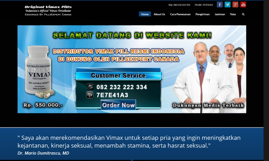 jual vimax asli andi fajar professional web